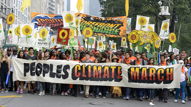 2014 People's Climate March NYC 6