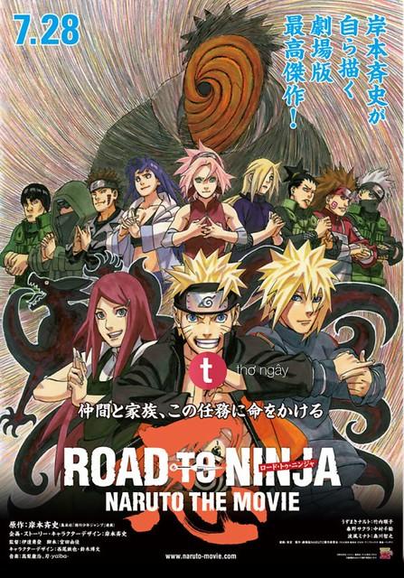 Phim Naruto: Con Đường Trở Thành Ninja - Naruto The Movie: Road To Ninja