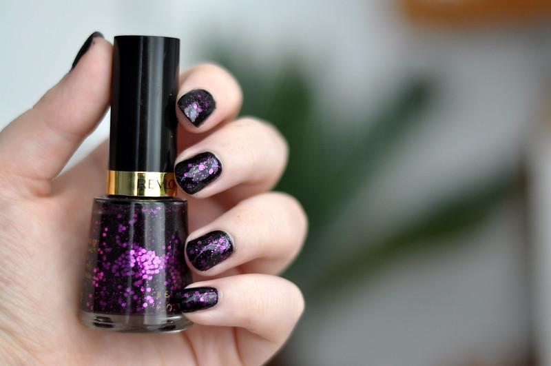 notd revlon facets of fuchsia nail polish rottenotter rotten otter blog