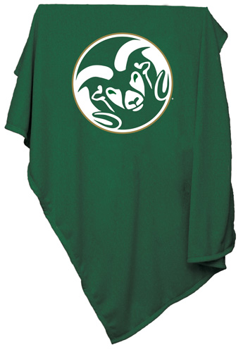 COLORADO STATE RAMS NCAA Sweatshirt Blanket