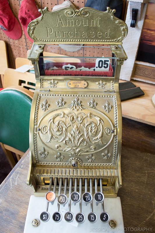 cash register vintage antique