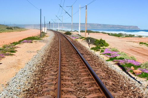 Sishen-Saldanha iron ore railway getting close to Elands Bay