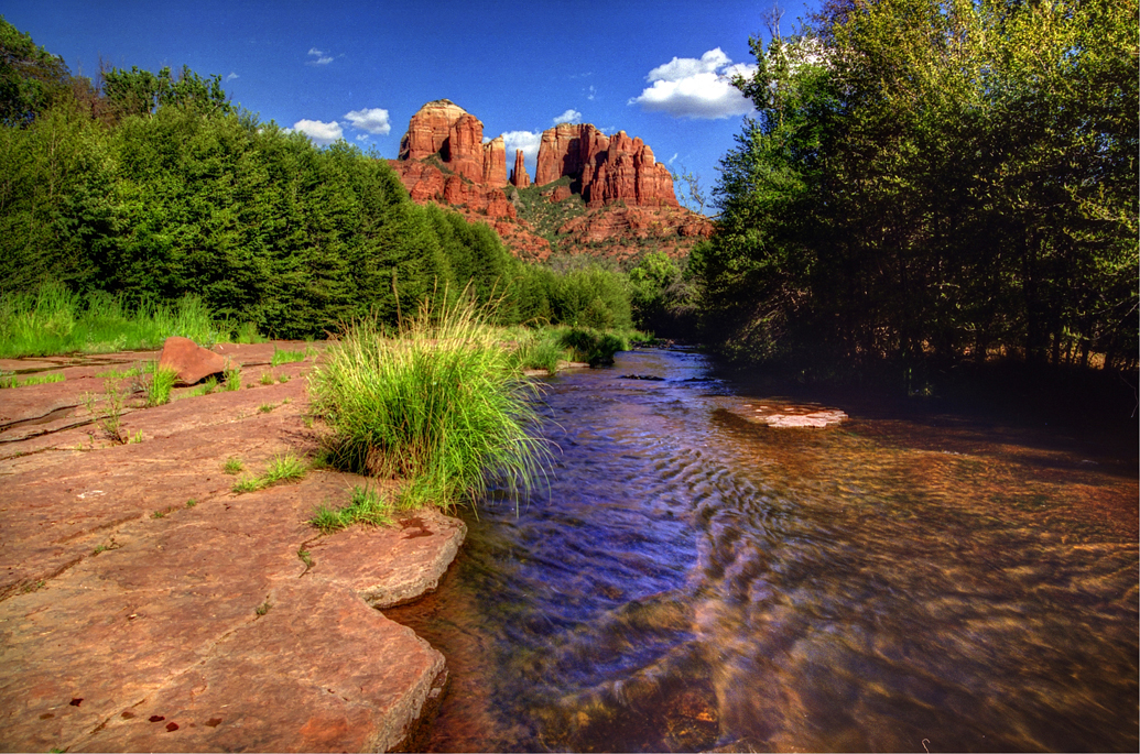 Red Rock Crossing Sedona AZ 006_a_fused_tonemapped by Mark Teufel, on Flickr