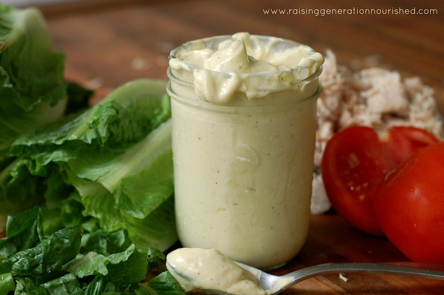 Simple Egg Free Mayonnaise - Raising Generation Nourished