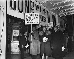 D.C. Protests Gone With the Wind Opening: 1940