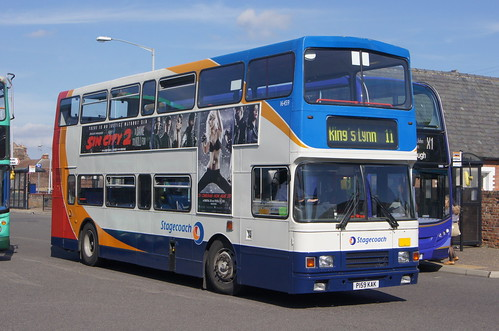 Volvo Olympians on loan at Norfolk Green (c) David Bell