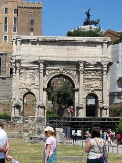 Arch of Septimius Severus の画像. italy rome spring arch forum 2014 severus septimius