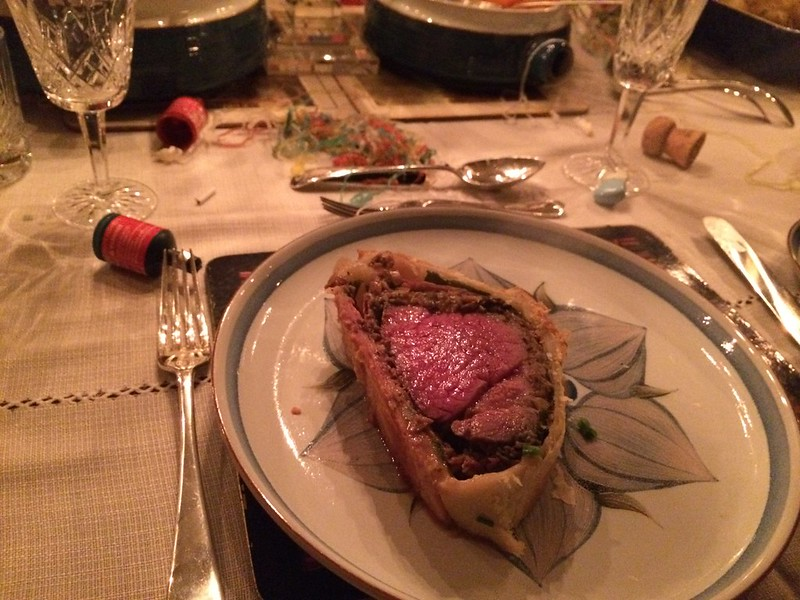 Beef Wellington : Close Up