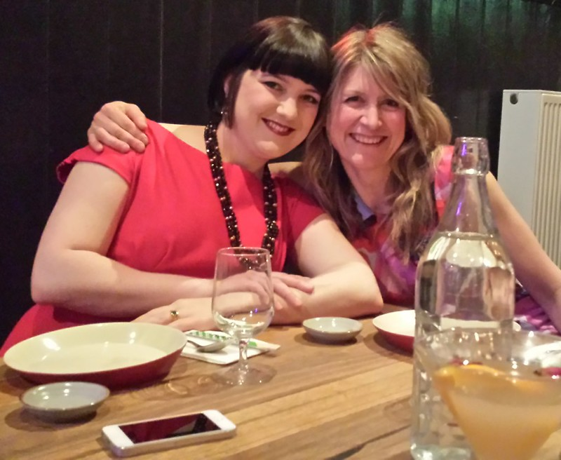 Carita and Helen at Melbourne Frocktails