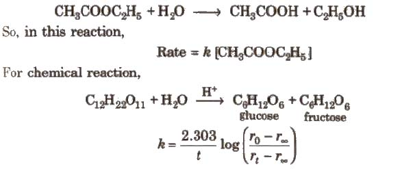 chemistry notes on kinetics Reaction rate given a detailed statement of the reaction chemistry we use several concepts from the subject of chemical kinetics to illustrate two key points.
