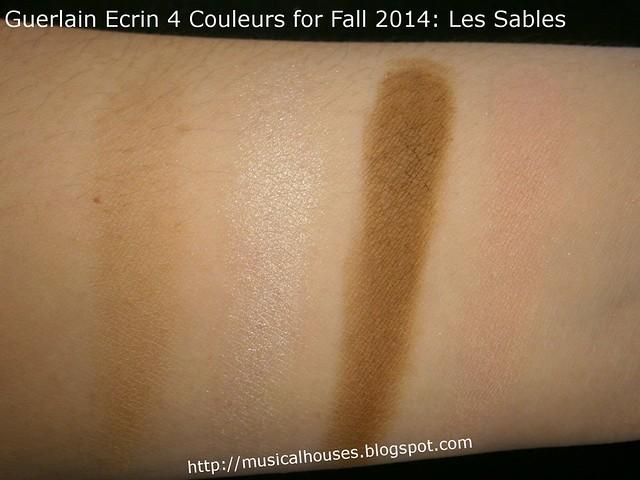 Guerlain Ecrin 4 Couleurs for Fall 2014 Les Sables