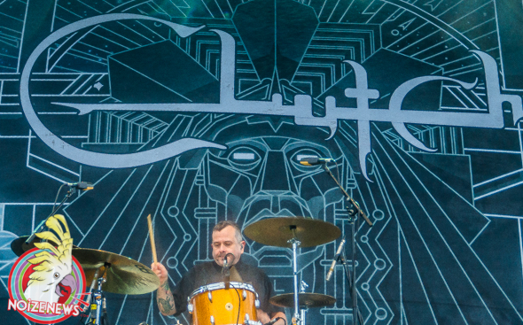 CLUTCH AT FIRST FEST