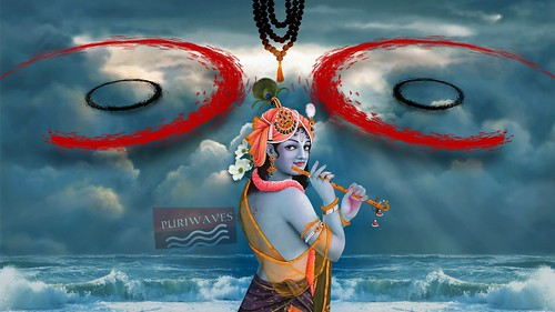 Jaya Krishna Mukunda Murari Namo Namo Wallpaper HD