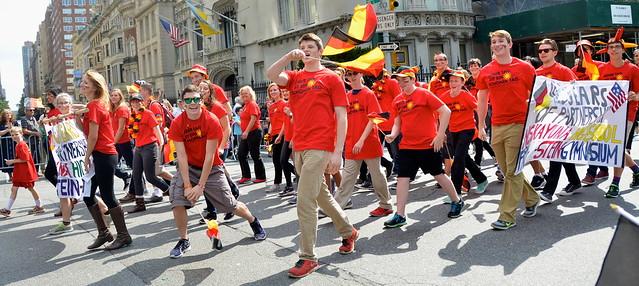 German-American Steuben Parade, NYC