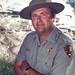Superintendent Bob Barbee at Mammoth Hot Springs (October, 1987) by YellowstoneNPS