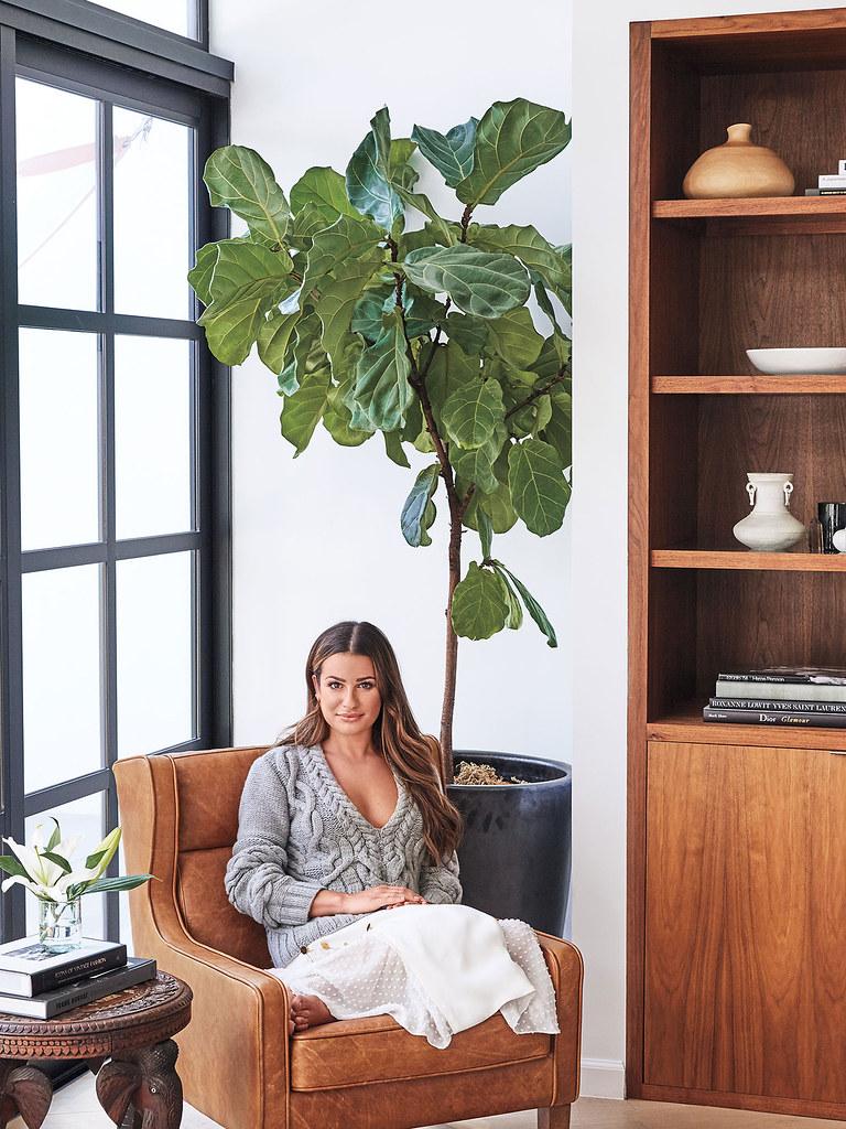 Лиа Мишель — Фотосессия для «InStyle Home & Design» 2016 – 3