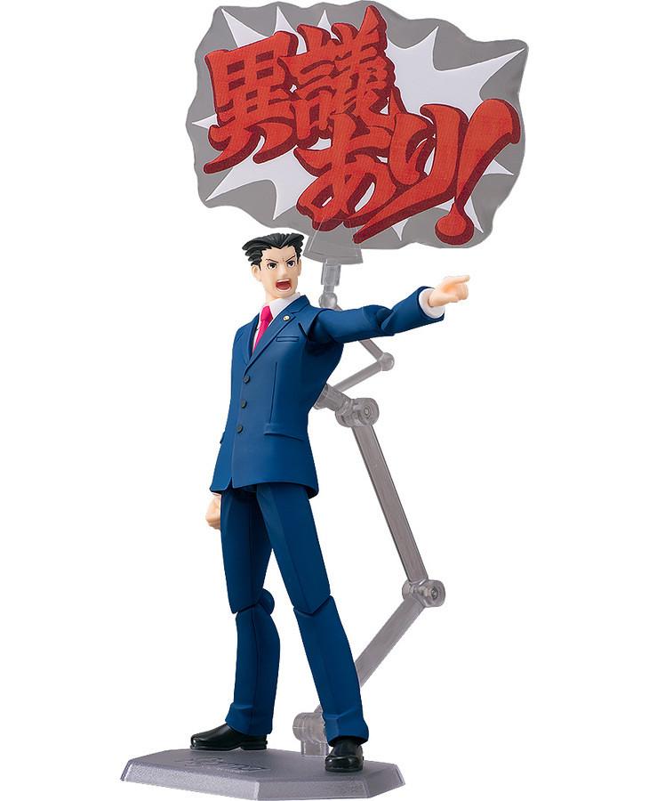 【新增官圖&販售資訊】《逆轉裁判》15週年記念將推出 figma 『成歩堂龍一』!
