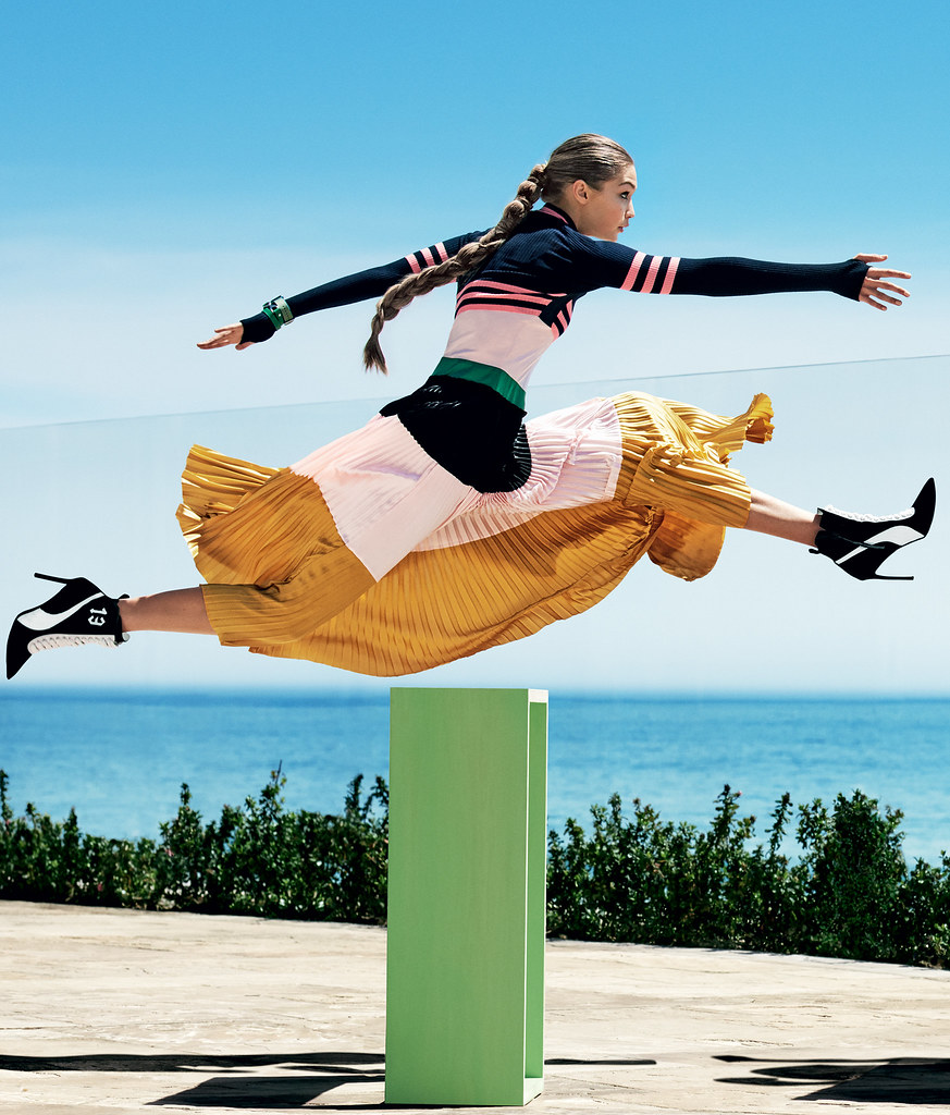 Джиджи Хадид — Фотосессия для «Vogue» 2016 – 2