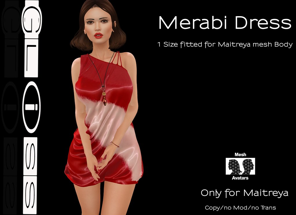 Gliss - Merabi Dress - SecondLifeHub.com