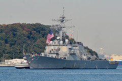 In this file photo, USS Stethem (DDG 63) returns to Yokosuka, Japan, in November. (U.S. Navy/MC1 Peter Burghart)
