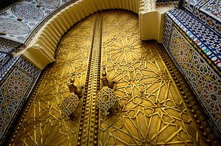 Golden-Doors-Royal-Palace-Fes-Morocco