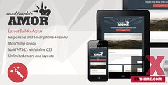 Preview Amor v10 - Flat and Clean Responsive Email Template  Eileen Wise