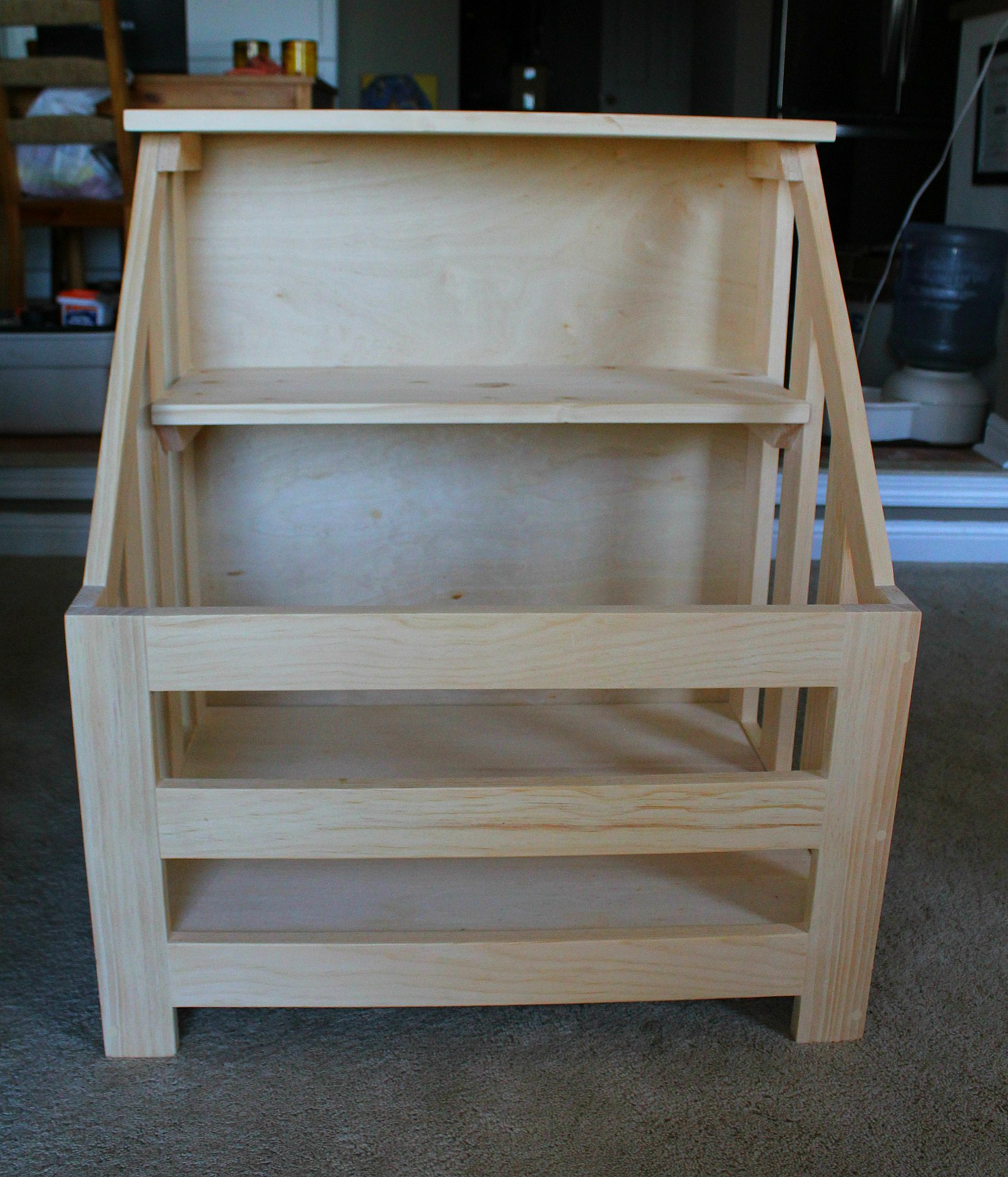 Toy Box With Shelf Plans Turtles and tails: bookshelf toybox combo ...