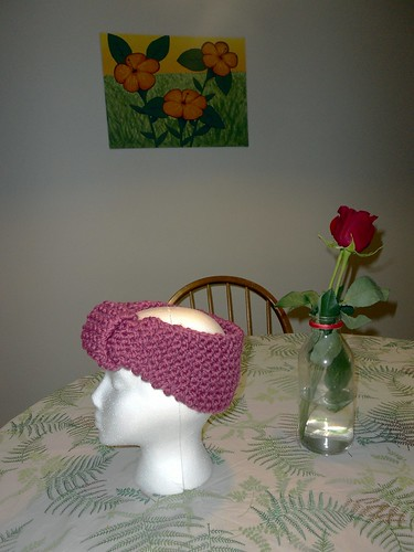 FO: Knit Headwrap