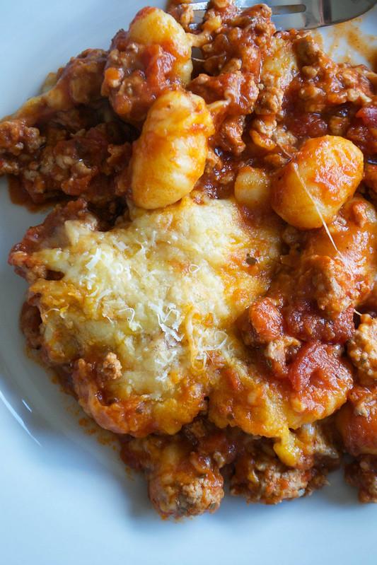 turkey mozzarella tomato gnocchi