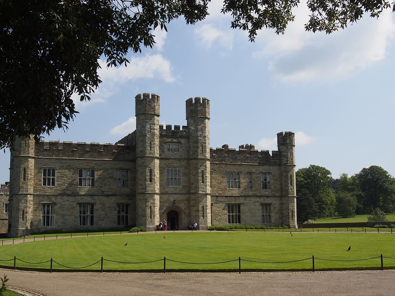 Leeds Castle, castle, golf course, travel, maze, grotto, beautiful grounds, Southeast England, Kent