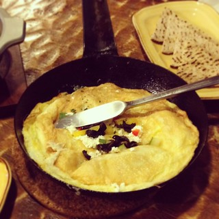 Greek Omelette-Eggs