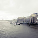 Rain over The Thames near Butlers Wharf by electricfoto