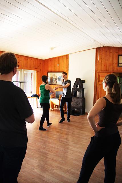 Kurs i lindy-hop. Fotograf: Kjersti Johanne Nybø