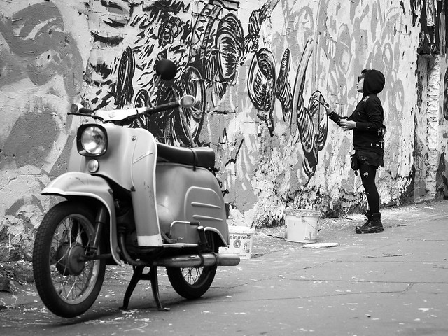 Streetart photo de Hans-Jörg Aleff@Flickr