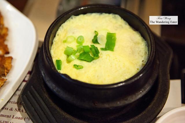 Korean steamed egg (Gaeran jim)