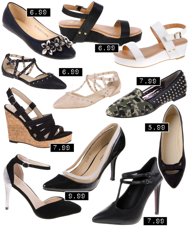 Ital Design Rabatt, günstige Schuhe, Schuhe unter 10 €