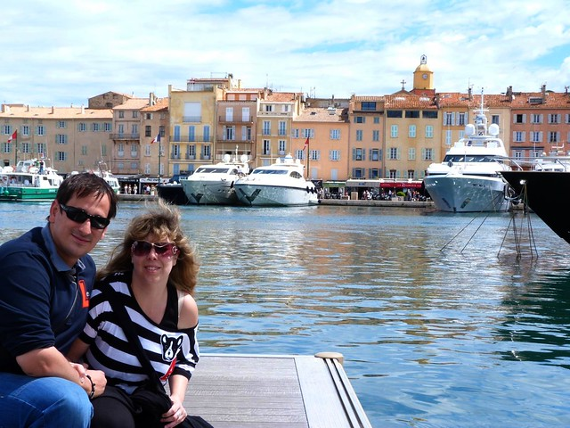 Rebeca y Sele en Saint-Tropez (Francia)