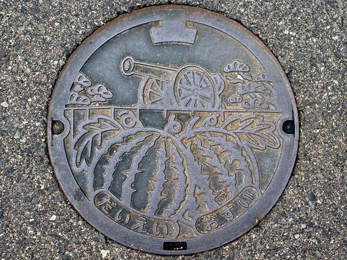 Daiei Tottori, manhole cover 4 (鳥取県大栄町のマンホール4)
