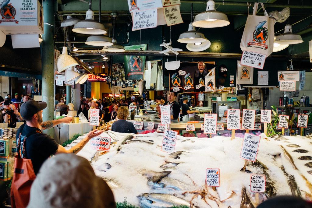 Pike Place Market June 06