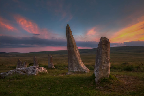 SCORHILL STONE CIRCLE 2014 solstice sunset