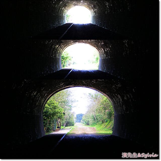 出隧道三連拍