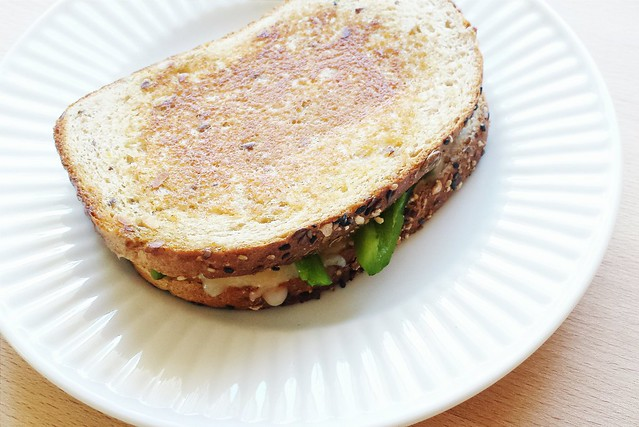 52 sandwiches no. 40: pepper jack grilled cheese