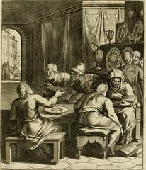 """Image from page 198 of """"La doctrine des murs, tiree de la philosophie des stoiques, representee en cent tableaux et expliquee en cent discours pour l'instruction de la ieunesse"""" (1646)"""