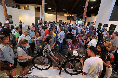 Oregon Manifest Bike Design Project reveal party-40