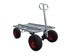 Galvanised Heavy Duty Tank Trolley