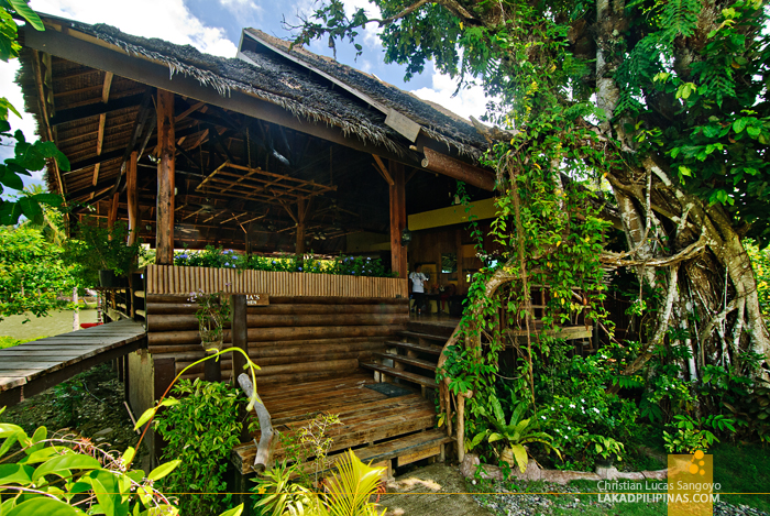 Restaurant Building at the Loboc River Resort in Bohol