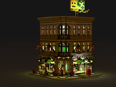 Lego 10211 - Grand Emporium - LDD lxf by Johnnhiszippy3