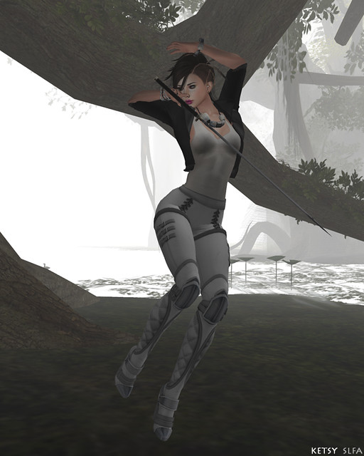 Valkyrie In The Mist (New Post @ Second Life Fashion Addict)