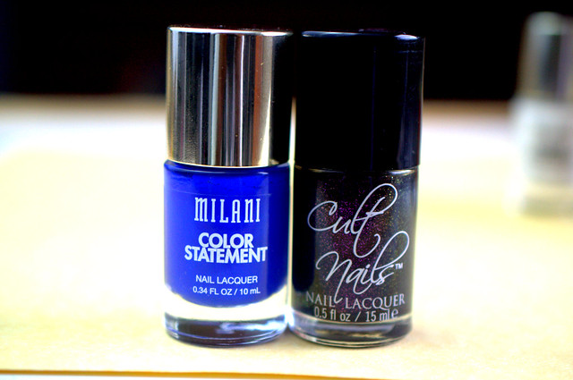 Milani Color Statement vs Cult Nails bottle