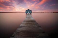 Crawley bay boat shed, Swan river ,Western Australia